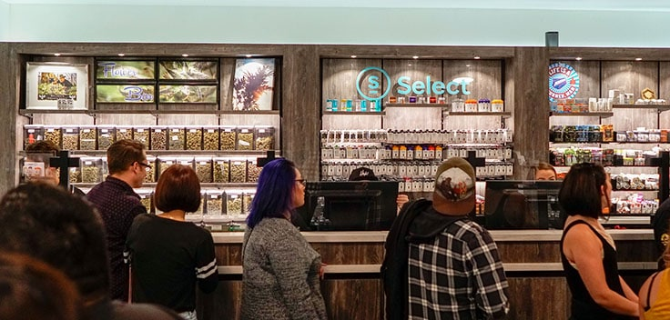 Medical marijuana adult use cannabis dispensary